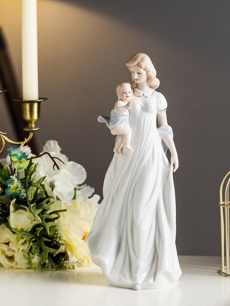 Art créatif salon étude décoration chaleureuse mère-enfant pleine lune cadeaux pour la fête des mères
