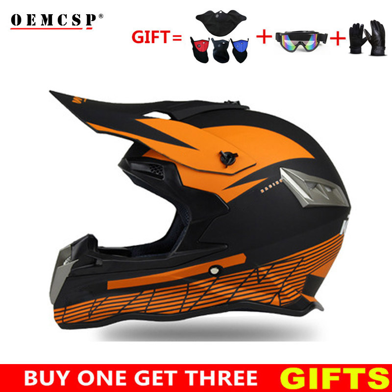 купить OEMCSP Motocross Helmet Off Road Professional ATV Cross Helmets MTB DH Racing Motorcycle Helmet Dirt Bike Capacete de Moto casco онлайн