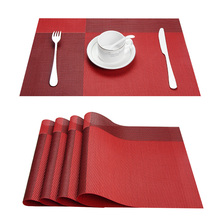 Top Finel Set of 8 PVC Decorative Vinyl Placemats for Dining Table Runner Linens Place Mat in Kitchen Cup Beer Mat Coaster Pad