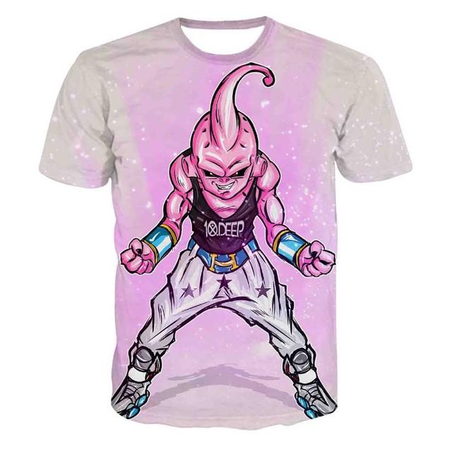Kid Buu 3D T-Shirts