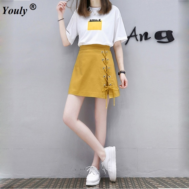 99569bdad6481 2019 Summer Casual Printed Blouse Top Sets And Cross High Waist Skirt  Bodycon Short Skirts Suit Women Slim Twinset Clothing Set
