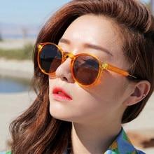 цены на COOLSIR Retro Round Sunglasses Women Men Brand Design Transparent Female Sun glasses Men Oculos De Sol Feminino Lunette Soleil  в интернет-магазинах