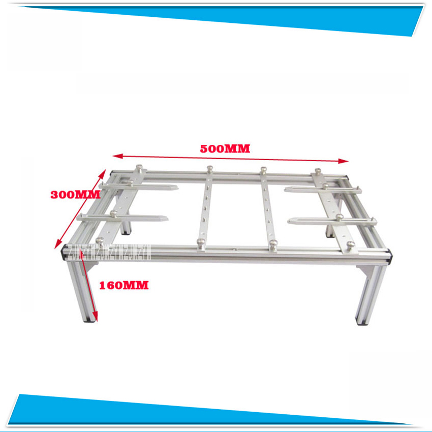 New High Quality Bracket for BGA Rework Station PCB Clamps Universal Bracket Active Stent Rework Table Accessories DIY Bracket universal bga pcb bracket clamp 500x300x160mm pcb holder luxury fixture jigs for bga rework station