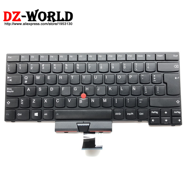 New Original for <font><b>Lenovo</b></font> Thinkpad <font><b>T430U</b></font> Keyboard LA SP Latin American Spanish Teclado 04Y0679 04Y0716 0C02074 image