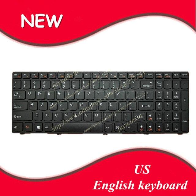 Inglês dos eua teclado para ibm lenovo g500 g505 g510 g500a g505a g700a g700 g710 g710a g500am g700at teclado do laptop preto