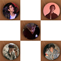 Youpop KPOP GOT7 Hard Carry Album Brooch Pins K-POP Badge Accessories For Clothes Hat Backpack Decoration Free Shipping HZ1839