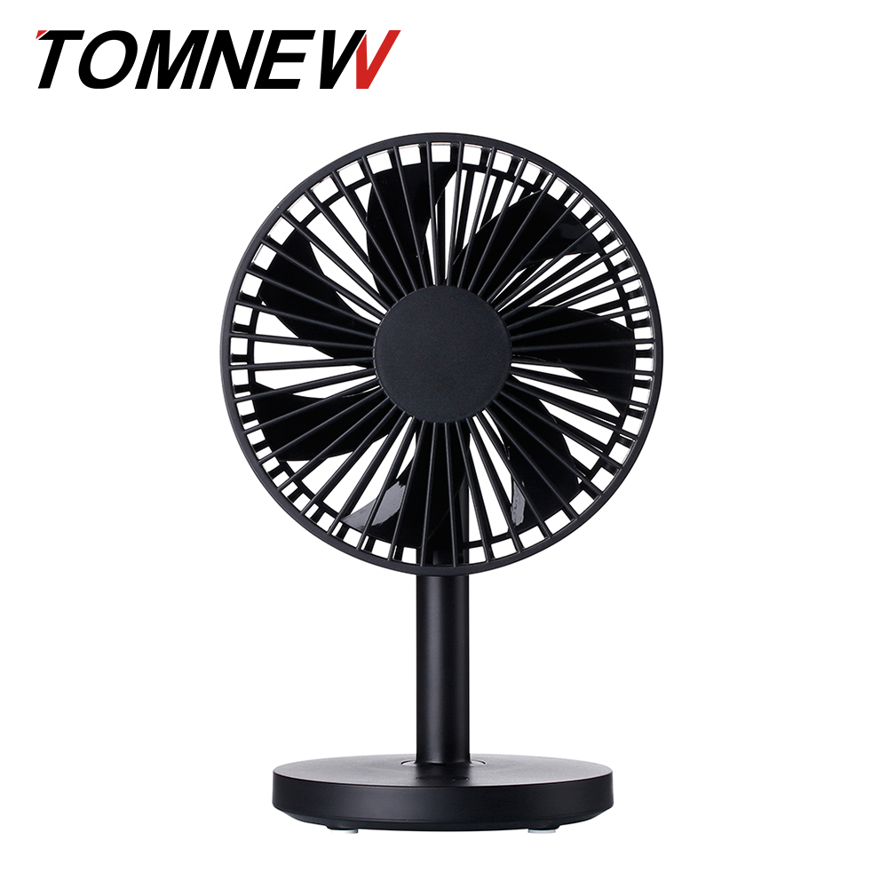 TOMNEW USB Desk Fan Mini Silent Desktop Electrical Portable Table Stand Fan Air Cooling Conditioner for Home Office