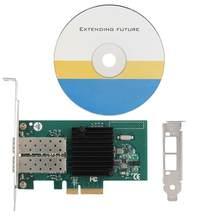 Двухпортовый оптоволоконный гигабитный сетевой адаптер для Intel 82576EB PCI-E X4 для Win 7/Win 8/Win 10