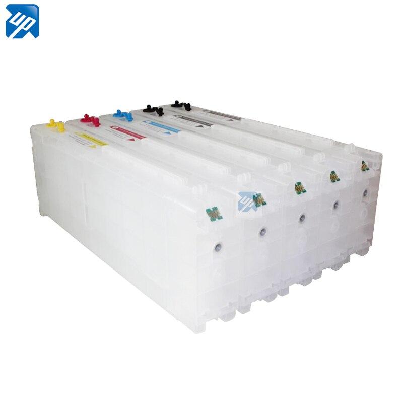 5pcs 700ml refillable ink Cartridge For Epson T3000 3070 T5000 5070 T7000 7070 Surecolor SC T3000