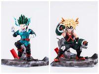 Anime My Hero Academia Boku no Hero Akademia Izuku Midoriya/Katsuki Bakugou PVC Action Figure Stand Model Toys gift