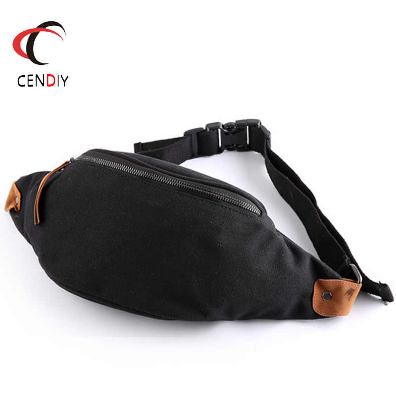 Running Travel Men Leather Waist Bag Small Pack Pouch Wallet Pouch Phone Bag