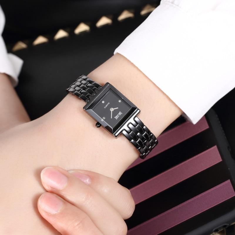 DALISHI Brand Ladies Watches Women Fashion Dress Quartz Watch Girl Charm Fashion Bracelet Hour Square Dial Clock Reloj Mujer