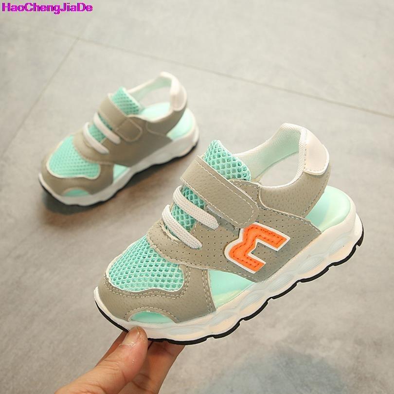 HaoChengJiaDe Kids Sandals New Summer Children Soft Shoes Baby Boys Sport casual Shoes Girls Sandals Chaussure Enfant