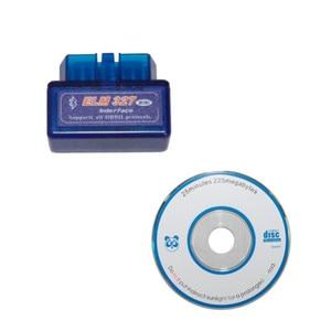 Image 5 - Super Mini Elm327 Bluetooth V 2,1 OBD2 EOBD Ulme 327 Mini Auto Code Diagnose Scaner Kostenloser Versand