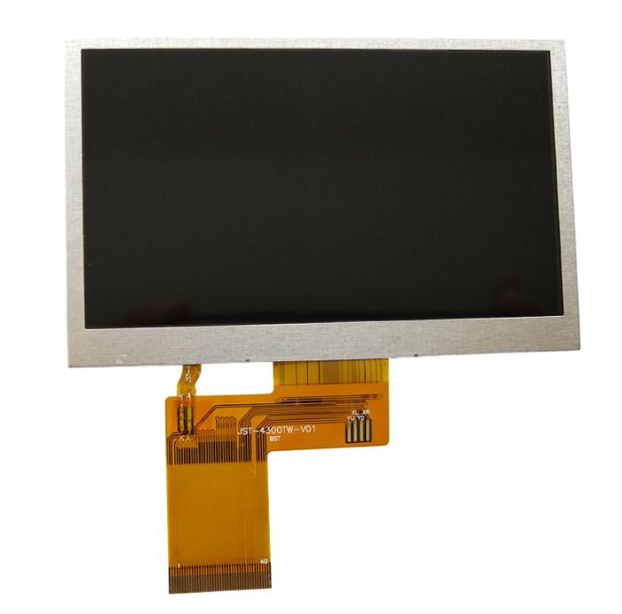 4.3inch 4.3inch 480x272 Dots TFT Color LCD Display Module for MP4,GPS,PSP,Car.MCU,PIC,AVR, 40PIN image