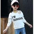 Crianças t-shirt Camisa Ropa nina Menina camisetas Roupas crianças 2017 nova chegada T-shirt para a menina camiseta infantil menino moda top