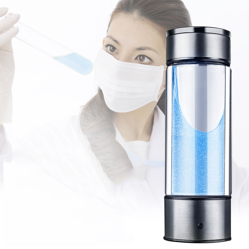 Hydrogen Water Generator Alkaline Maker Rechargeable Portable Water Ionizer Bottle Super Antioxidan Hydrogen Rich Water Cup