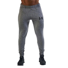 2017 the muscle doctor male autumn and winter new fashion trend line casual sweatpants exercise gyms men fitness long pants