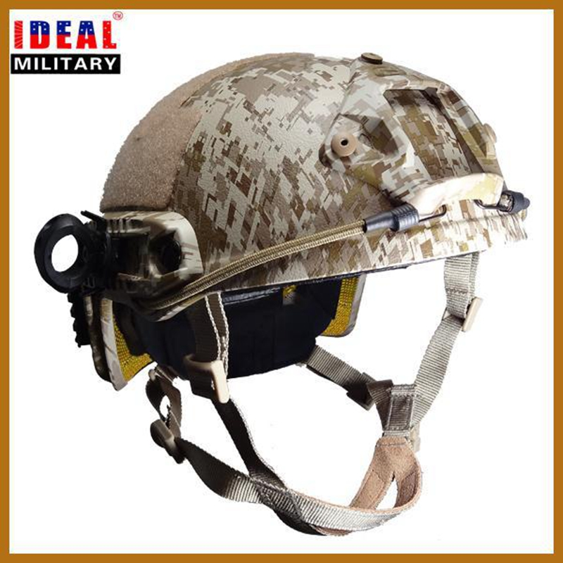 New High Quality Tactical US Army Helmet FAST Ballistic Helmet NIJ Standard With Test Report Bulletproof Helmet fast ballistic helmet rapid response tactical helmet mc fg at tan aor1 digital desert bk woodland atfg acu