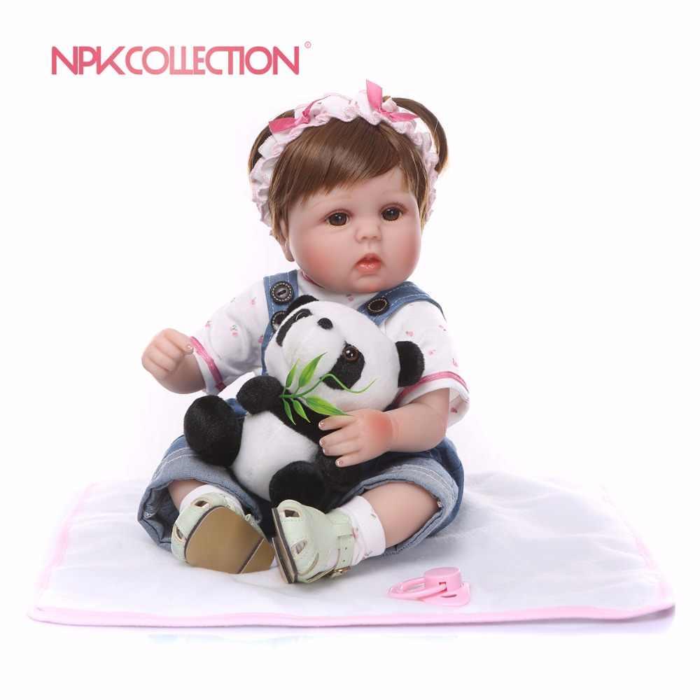 Npkколлекция, силиконовые куклы для новорожденных, реалистичные, живые, Boneca, Bebe, реалистичные, настоящие, для девочек, куклы для новорожденных, на день рождения, Рождество