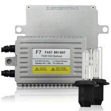 F7 Rapide Lumineux 70 W HID Ballast Xénon Kit H7 H1 H3 H4 H8 H9 H10 H11 HB3/9005 HB4/9006 H27/880881 pour VW TOYOTA phares
