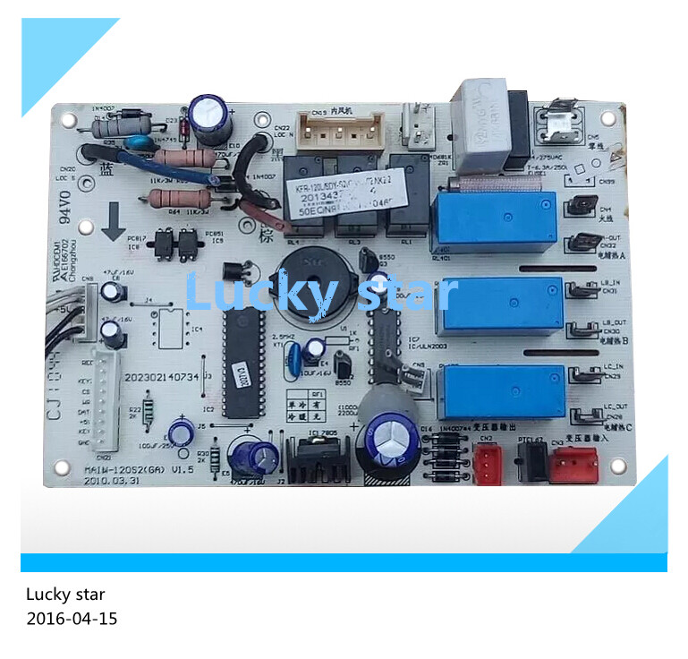 95% new for Air conditioning computer board circuit board KFR-120L/SDY-S2(GA) MAIN-120S2(GA) good working 2017 new arrival broadlink s1c s1 smartone alarm