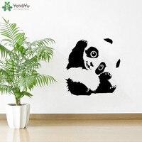 YOYOYU Наклейка на стену Милая Панда стикер на стену виниловая стена с наклейками для спальни гостиной 40 цветов в наличии QQ299