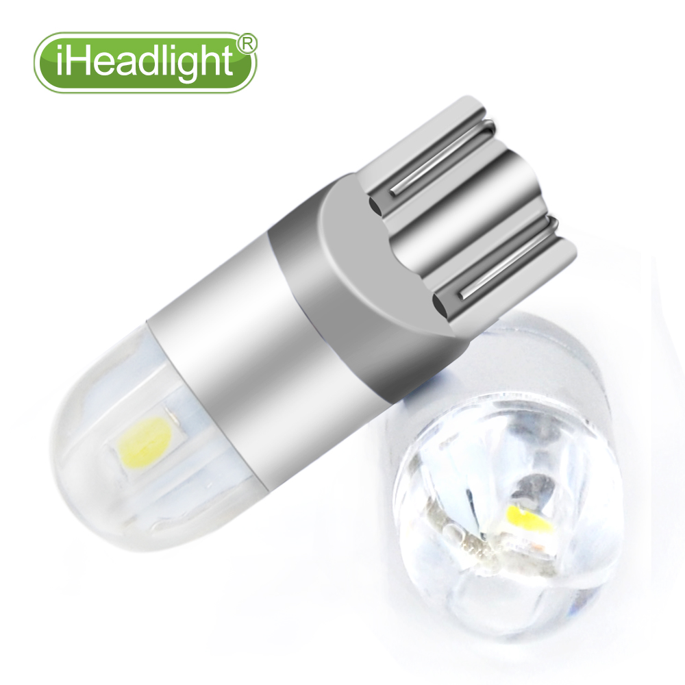 2pcs T10 LED 12v Car Turn Sinyal bilik lampu kereta membaca lampu - Lampu kereta - Foto 4