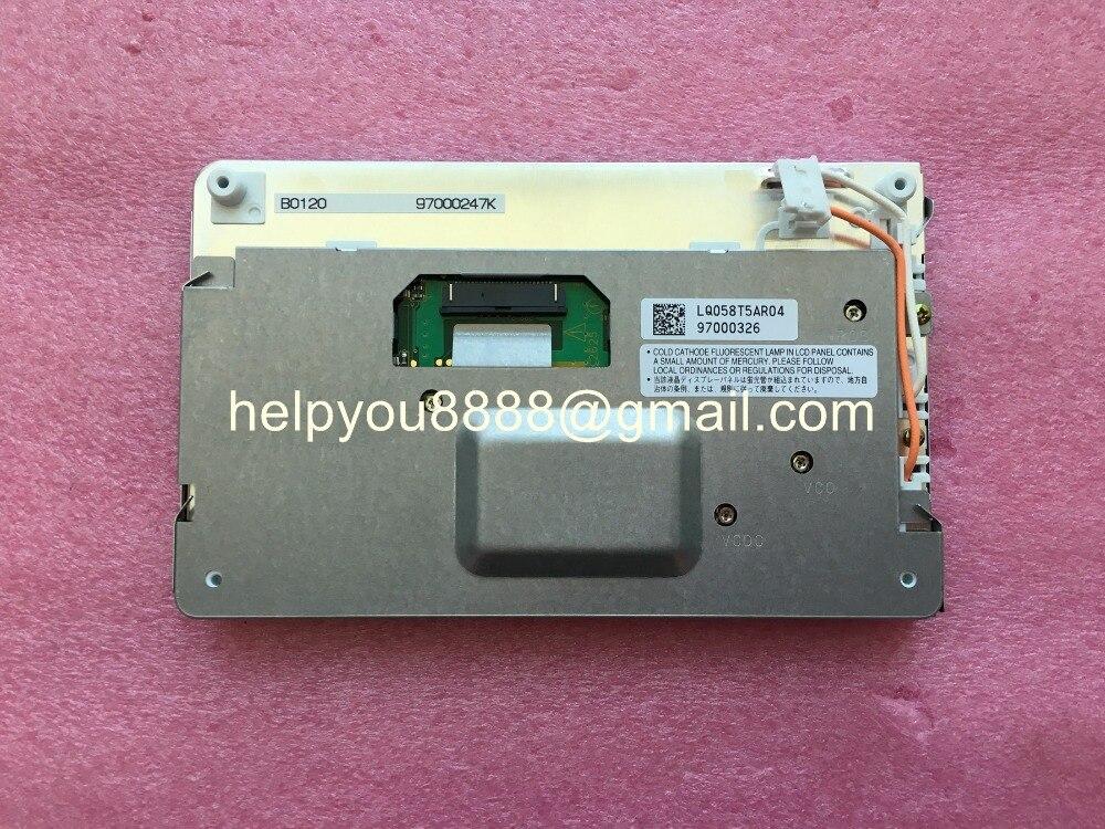 New Original 5 8 inch 400 234 LCD Display Car Panel Monitors LQ058T5AR04 LCD Screen For