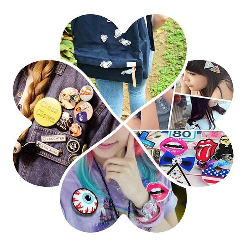 Presente DIY Crianças Meninas Dos Desenhos Animados Pin Jóias Bonito Acessórios de Moda Ornamento Roupas Meninas Crachá Mulheres Broches