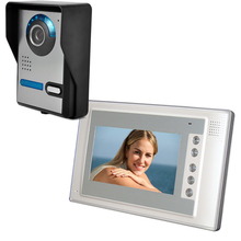 Wired Infrared Waterproof Video Intercom Doorbell Home Doorbell One-On-One Access Control цена