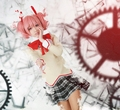 Customized Anime Puella Magi Madoka Magica Kaname Madoka Cosplay Costumes Outfit Girl Cosplay Clothes Qute Girl Clothes