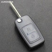 Auronnova флип складной ключ оболочки для Chery A3 A5 Fulwin 2 Cowin 1 2 3 Tiggo E5 Riich X1 чехол для дистанционного ключа от машины
