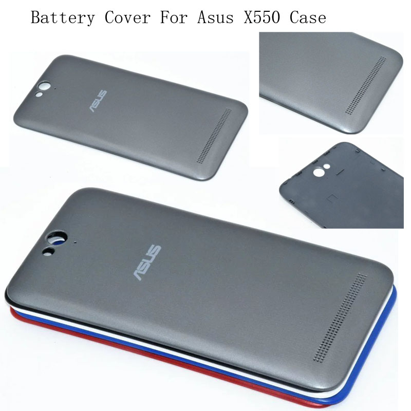Smartphone Cover Case For Asus Pegasus 2 Plus X550 Battery Door Housing Replacement Protective Phone Cases For Asus X550 5 Color