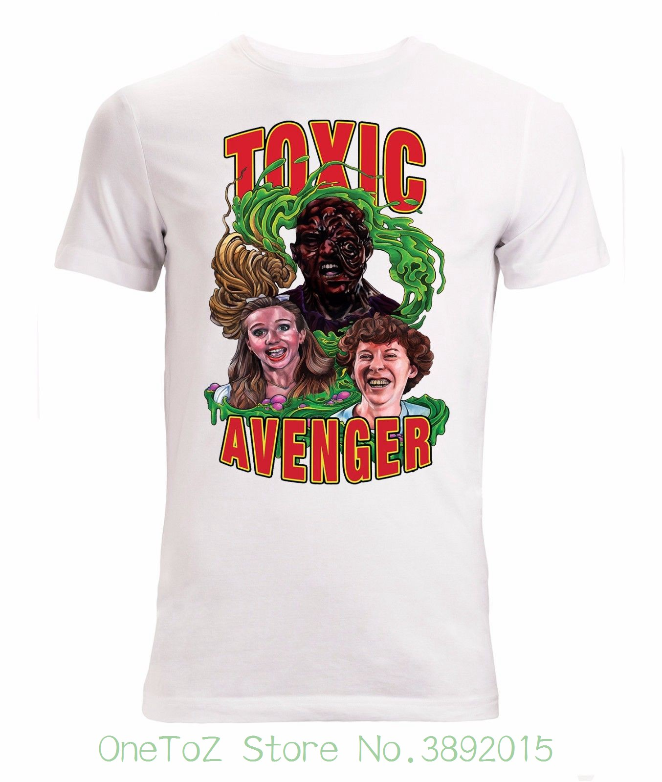 49dddf7ae47 Normal Short Sleeve Cotton T Shirts Toxic Avenger Classic Cult Movie  Artwork Men  S T Shirt White-in T-Shirts from Men s Clothing on  Aliexpress.com ...