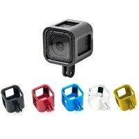 New Gopro Hero 4 Session Camera Frame Aluminium Protective Shell Case GP306 Gopro Camera Accessories