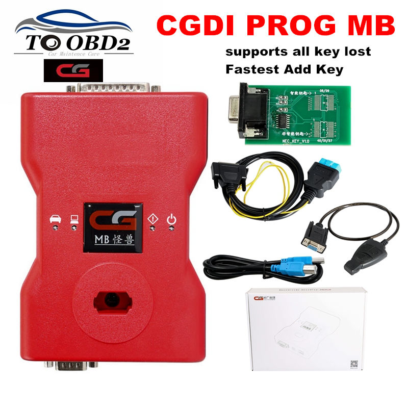 CGDI MB Programmer Supports All Key Lost For Benz Fastest Add Key Original CGDI Prog MB
