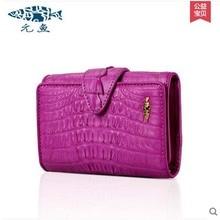 yuanyu free shipping 2017 hot new real Crocodile skin female bag women purse fashion women wallet women clutches women purse