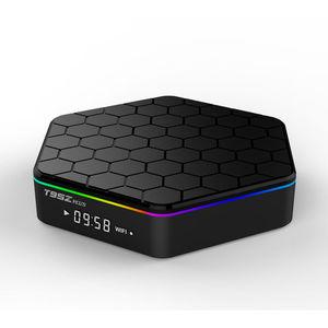 Image 2 - الأصلي T95Z زائد مربع التلفزيون الذكية 2 GB/16 GB 3 GB/32 GB Amlogic S912 ثماني النواة أندرويد 7.1 TVBOX 2.4G/5GHz واي فاي BT4.0 4K مجموعة صندوق فوقي