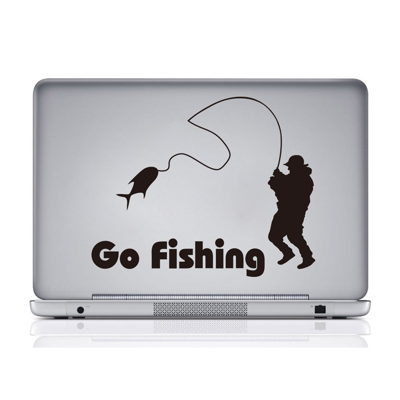 Hot sale New 1PCS Cartoon DIY go fishing Sticker for kids room Wall Sticker Decoration Fluorescent Living Room Home Decor