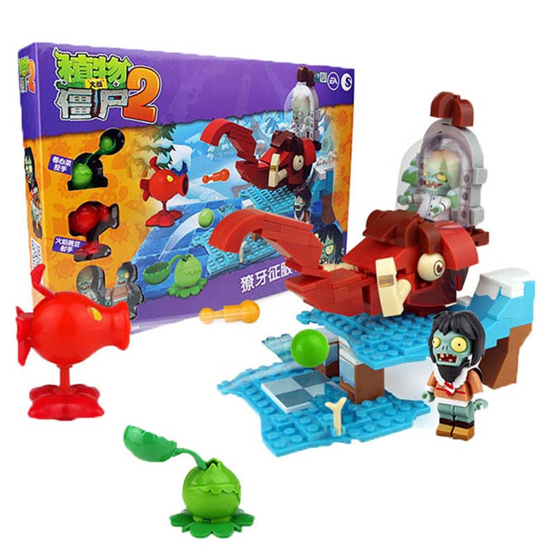 Legoingly Plants Vs Zombies Can Shoot Struck Game Action Toys amp amp Figures Building Blocks Bricks Compatible Legoingly Gifts in Blocks from Toys Hobbies