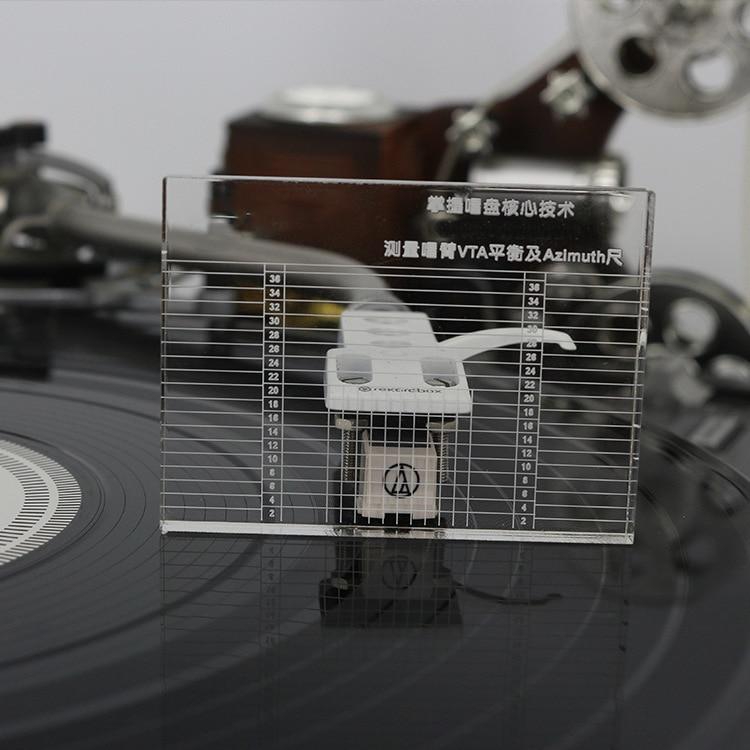 Tragbares Audio & Video Süß GehäRtet Professionelle Lp Vinyl Messung Arm Balance Azimut Einstellung Plattenspieler Patrone Azimut Herrscher Vta Balance Headshell