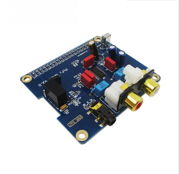Raspberry pi 2 I2S Interface Special HIFI DAC Audio Sound Card Module ugeek aoide hifi dac audio sound card module i2s interface for raspberry pi b diy your hifi player with raspberry pi
