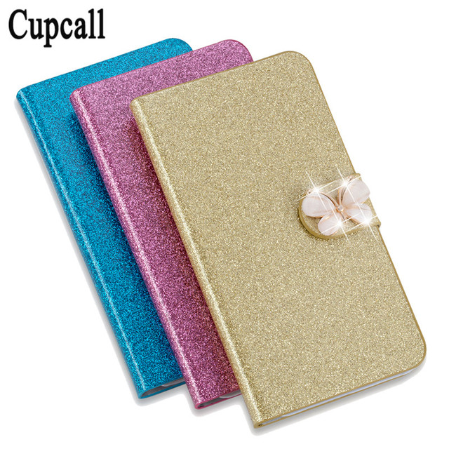 Shiny Glitter Leather Flip Phone Case Cover For Samsung Galaxy Ace 2 II i8160 8160 gt-i8160 phone bag case