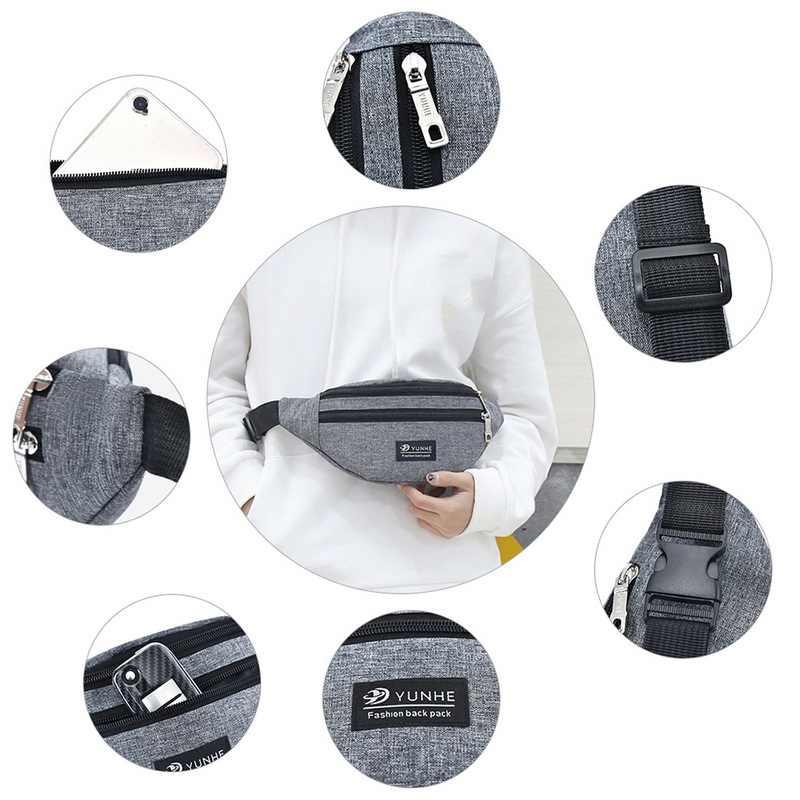 Saco de peito lazer saco de cintura esportes ao ar livre bolsa de ombro slung fanny saco multifuncional cinto bolsa pacotes fanny