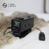 Спина оптика м охотничий лазерный дальномер М мини 700 открытый целевой измеритель расстояния для прицел с рейку
