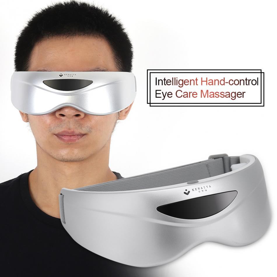 Electric Infrared Sense Eye Massager Magnet Vibration Therapy Eye Care Massage SPA Mask Anti Fatigue Wrinkle Eyesight Protector magnet therapy electric eye health care massager mask eye relax alleviate fatigue forehead beauty massage eyeshades gifts