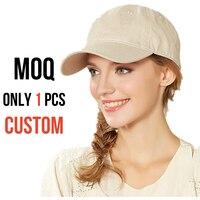 Wholesale Acrylic Cotton Baseball Cap Dad Caps Hat Men Women Plain Solid Custom Personalized Embroidery Summer