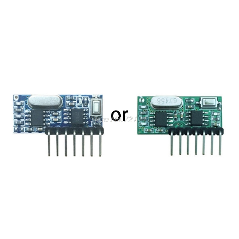 Hot 433mhz Wireless 4 Channel RF Receiver 1527 Learning Code Decoder Module For Remote Control Electronics Stocks