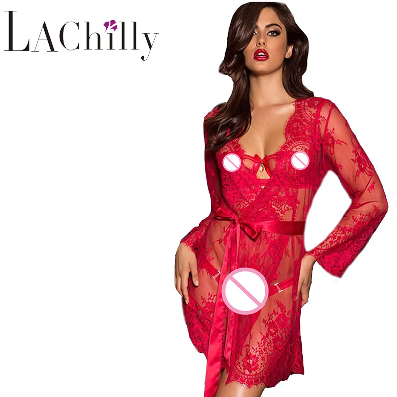 Lenceria Femenina Ropa Sexy Mujer Intima Picardias Plus Size Eyelash Lace Sleepwear R80552 Ropa Interior Mujer Sexy Erotica